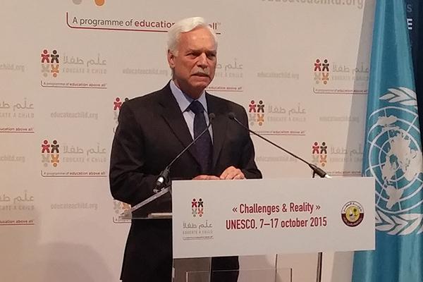Marcio Barbosa CEO of Education Above All at UNESCO.