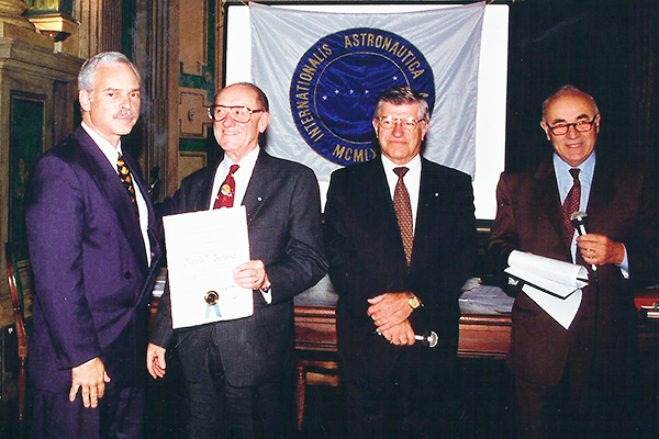 Marcio Barbosa, elected as Member of the International Astronautical Academy in Turin, Italy.