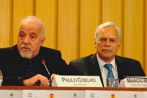 Marcio Barbosa, Paulo Coelho, UNESCO