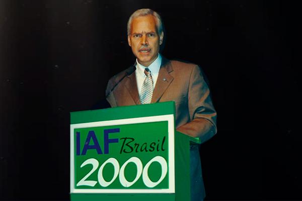 Marcio Barbosa, President of IAF (International Astronautical Federation).