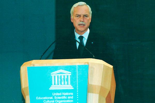 Marcio Barbosa, Deputy Director General of UNESCO.